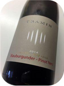 2014 Cantina Tramin, Pinot Nero, Alto Adige, Italien