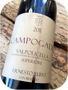 2011 Ernesto Ruffo, Campogadis Valpolicella doc Superiore, Veneto, Italien