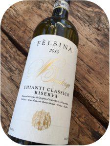 2010 Fèlsina, Berardenga Chianti Classico Riserva, Toscana, Italien