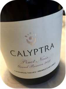 2011 Calyptra, Pinot Noir Grand Reserve, Cachapoal, Chile