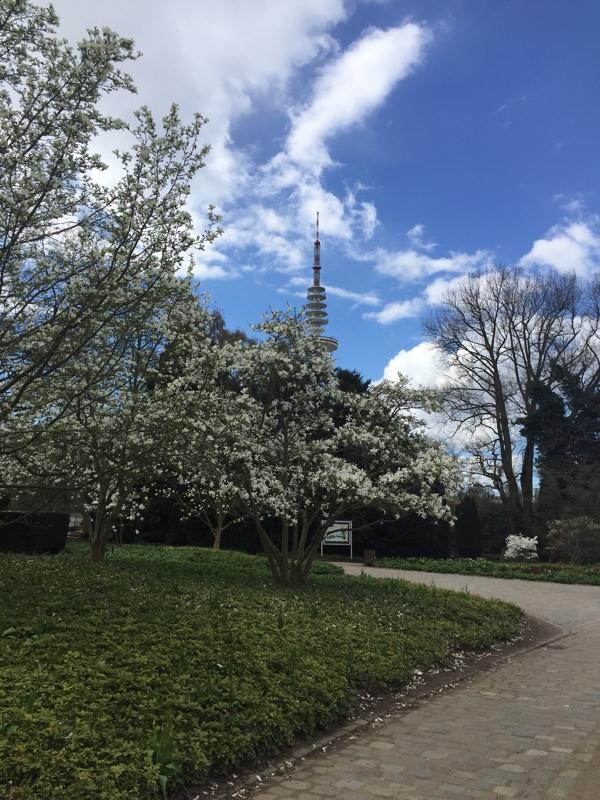 Forårsstemning i Planten und Blumenpark