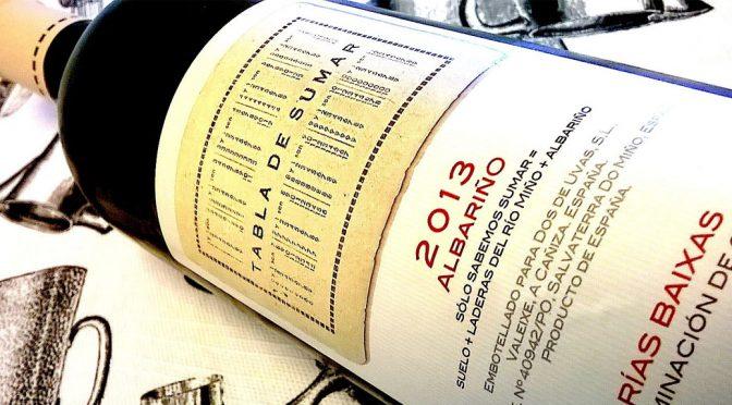 2013 Compañía de Vinos Tricó, Albariño Tabla de Sumar, Rías Baixas, Spanien