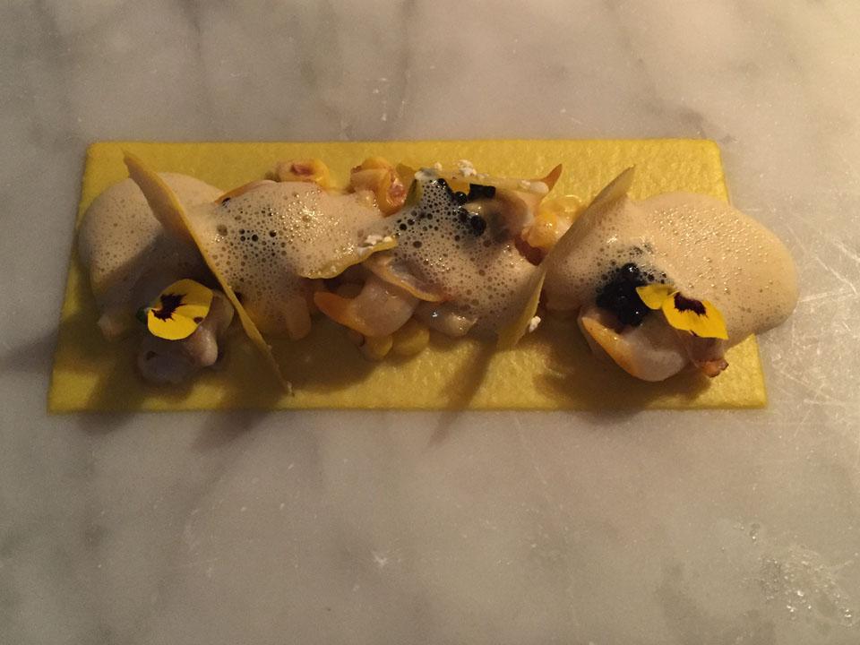 Hjertemusling majs caviar