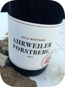2014 Weingut Julia Bertram, Ahrweiler Forstberg Spätburgunder, Ahr, Tyskland