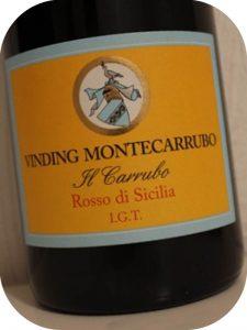 2012 Vinding Montecarrubo, Il Carrubo, Sicilien, Italien