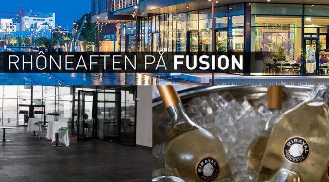 Rhôneaften m/Matthieu Perrin … ved kaptajnbordet på Fusion