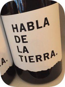 2014 Bodegas Habla, Habla de la Tierra, Extremadura, Spanien
