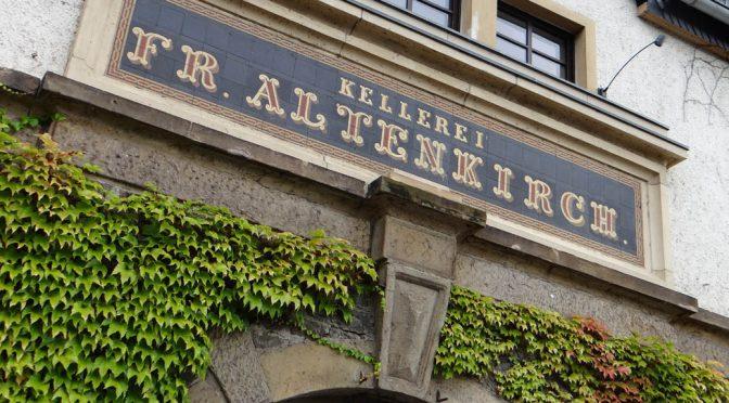 2013 Weingut Altenkirch, Lorcher Schlossberg Riesling Trocken, Rheingau, Tyskland