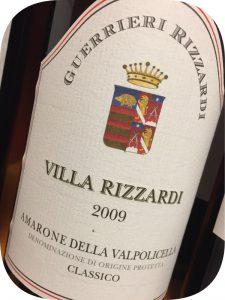 2009 Guerrieri-Rizzardi, Amarone della Valpolicella Classico, Veneto, Italien