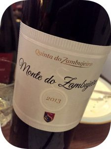2013 Quinta do Zambujeiro, Monte do Zambujeiro, Alentejo, Portugal