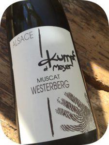 2015 Domaine Kumpf et Meyer, Muscat Westerberg, Alsace, Frankrig