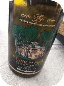 2013 Frank Family Vineyards, Carneros Chardonnay, Californien, USA