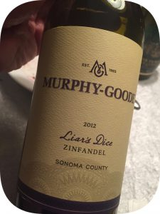 2012 Murphy-Goode Winery, Liar's Dice Zinfandel, Californien, USA