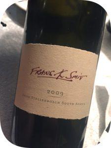 2009 Spier Wines, Frans K Smit, Stellenbosch, Sydafrika