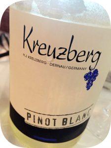 2013 Weingut Kreuzberg, Pinot Blanc, Ahr, Tyskland