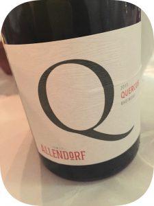 2013 Weingut Allendorf, Quercus Pinot Noir, Rheingau, Tyskland