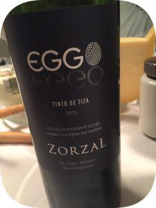 2013 Zorzal Wines, Eggo Tinto de Tiza, Mendoza, Argentina