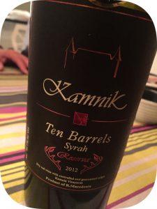 2012 Château Kamnik, Ten Barrels Syrah, Makedonien