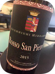 2015 Guerrieri-Rizzardi, Rosso San Pietro, Veneto, Italien