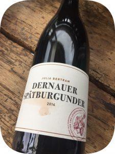 2014 Weingut Julia Bertram, Dernauer Spätburgunder, Ahr, Tyskland