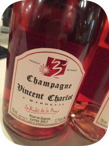 2011 Vincent Charlot, Le Rubis de la Dune Rosé de Saignée Extra Brut, Champagne, Frankrig