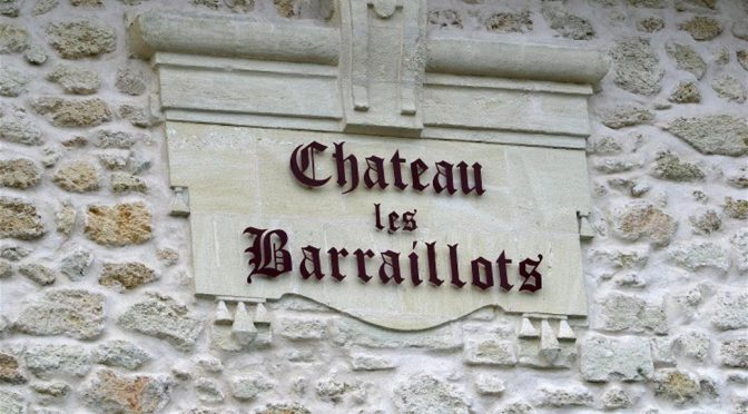 2012 Château Les Barraillots, Margaux Cru Artisan, Bordeaux, Frankrig