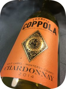 2014 Francis Ford Coppola Winery, Chardonnay Diamond Collection, Californien, USA