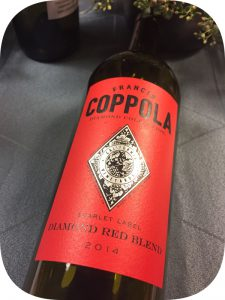 2014 Francis Ford Coppola Winery, Red Blend Diamond Collection, Californien, USA