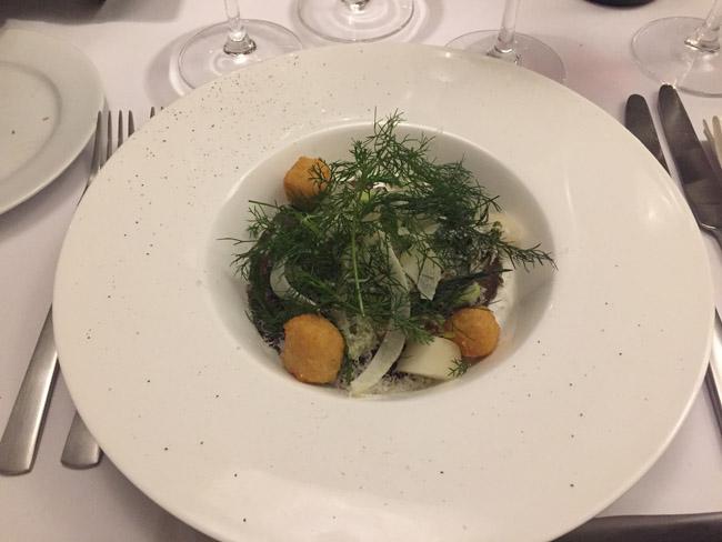 Dansk okse med fennikel