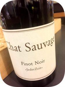 2010 Weingut Chat Sauvage, Jeder Zeit Pinot Noir, Rheingau, Tyskland