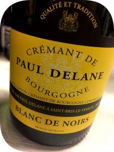 N.V. Paul Delane, Blanc de Noirs Cremant de Bourgogne, Bourgogne, Frankrig