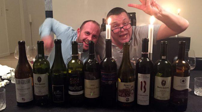En torsdag hos Paul … med en smule vin