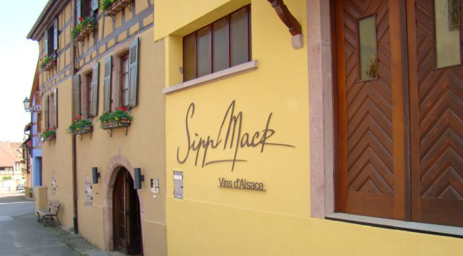 2015 Domaine Sipp Mack, Pinot Blanc, Alsace, Frankrig
