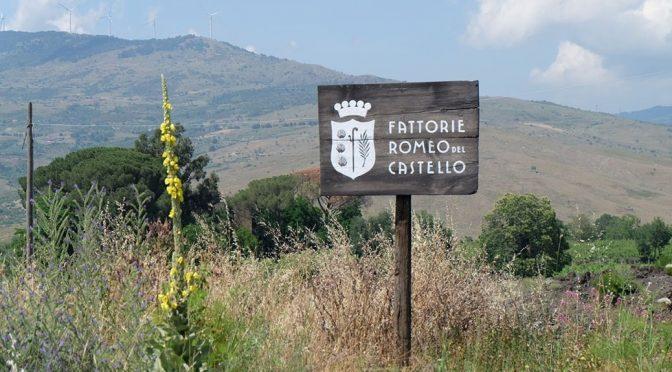 2013 Fattorie Romeo del Castello, Vigo, Sicilien, Italien