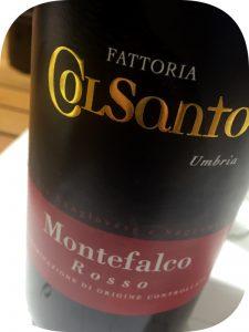2015 Fattoria ColSanto, Montefalco Rosso, Umbrien, Italien