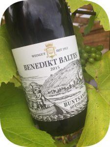 2015 Weingut Benedikt Baltes, Buntsandstein Spätburgunder, Franken, Tyskland