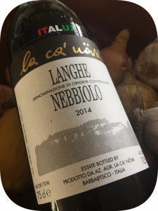 2014 La Ca' Növa, Langhe Nebbiolo, Piemonte, Italien