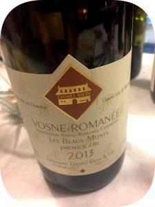 2013 Domaine Daniel Rion & Fils, Vosne-Romanée Le Beaux-Monts Premier Cru, Bourgogne, Frankrig