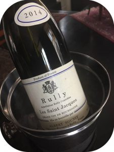 2014 Albert Sounit, Rully Blanc Les Saint-Jacques, Bourgogne, Frankrig