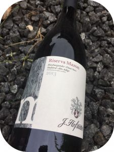 2013 J. Hofstätter, Riserva Mazon Pinot Nero, Alto Adige, Italien