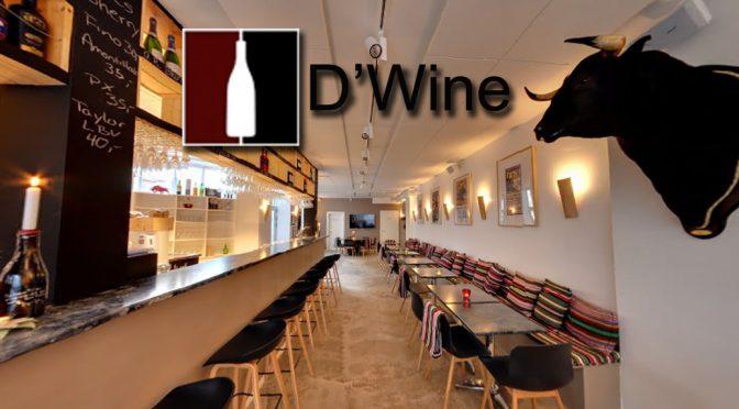 Besøg på D'Wine Bar … et møde med det spanske højhastighedstog