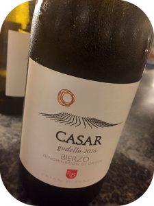 2016 Casar de Burbia, Casar Godello, Bierzo, Spanien