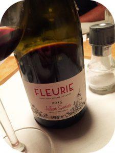 2015 Julien Sunier, Fleurie, Bourgogne, Frankrig