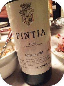 2002 Bodegas y Viñedos Pintia, Pintia, Toro, Spanien