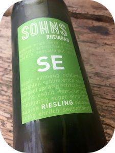 2016 Weingut Sohns, Riesling SE Trocken, Rheingau, Tyskland