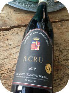 2012 Guerrieri-Rizzardi, 3 Cru Amarone della Valpolicella Classico Veneto, Italien