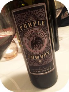 2012 Purple Cowboy Wines, Tenacious Red, Californien, USA