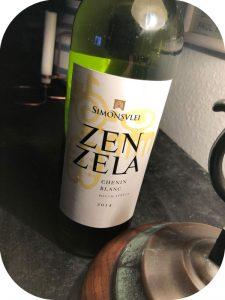2014 Simonsvlei, Zenzela Chenin Blanc, Western Cape, Sydafrika