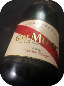 N.V. G.H. Mumm, Cordon Rouge, Champagne, Frankrig