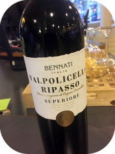 2014 Bennati, Valpolicella Ripasso Superiore, Veneto, Italien